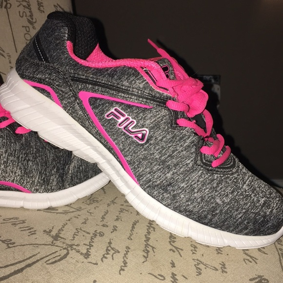 Brand New Fila Memory foam greypink sneakers 9